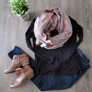 Super soft and warm blanket scarf